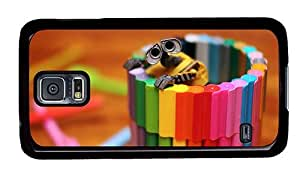 Hipster Samsung Galaxy S5 Case original walle toy crayons PC Black for Samsung S5 by icecream design