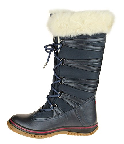 Pajar Grip Star Women's Zipped Snow Boots (39 EU/8 US, Navy) ()