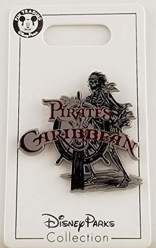 Disney Pin - Pirates of the Caribbean - Skeleton at the Helm