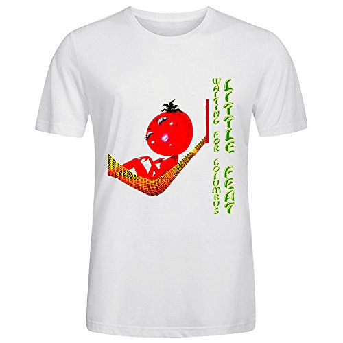 little-feat-waiting-for-columbus-design-your-own-t-shirts-mens-round-neck-white