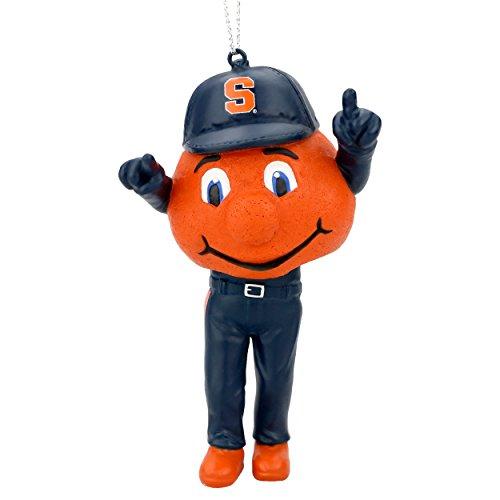 Otto the Orange Syracuse Orange Ornament Bobblehead Ornament - Orange Bobble Head