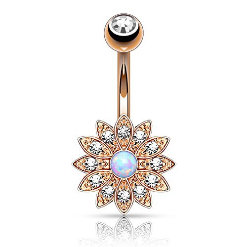 Charm Belly Ring - 9