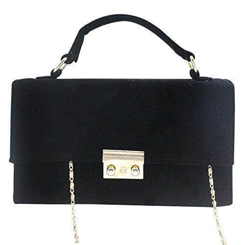 Black Bag Clutch Handbag Lady Case Wiwsi Hard Prom Formal Shoulder Evening Women Purple Party SaPA1wTqO
