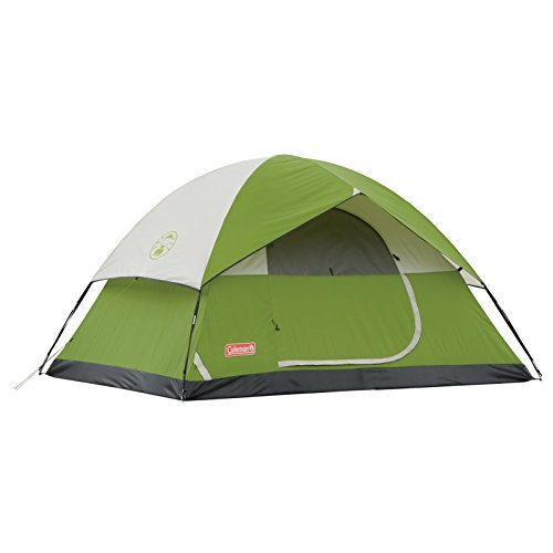 Coleman 2000007827 Sundome 4-Person Tent, Green (Camp Tent)