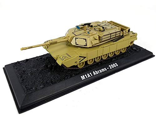 M1 Abrams Main Battle Tank 1/72 Scale Die-cast Model ()
