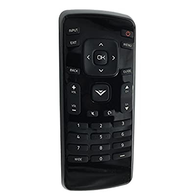 New XRT020 LED HDTV Remote Control for Vizio TV E221A1 E221-A1 E231B1 E231-B1 E241A1 E241-A1 E241A1W E241-A1W E241B1 E241-B1 E280A1 E280-A1 E280B1