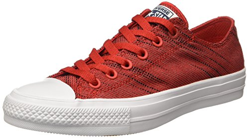 Knit Red Ox Converse Taylor Star Chuck All White Core Black AgAqZ0wY