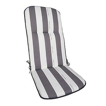 Coussin pour fauteuil multiposition Cancale gris: Amazon.fr: Jardin