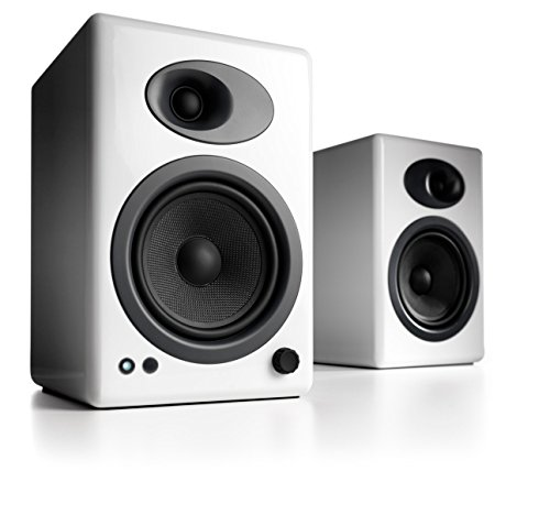Audioengine A5+ White 100 W 2.0 Channel Speakers