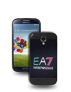 FashionLVeoo S4 Funda Case, Armani Luxury Brand Printed Pattern Design Protective Funda Case for Galaxy S4, Ultra Thin TPU Hard Cover for Samsung Galaxy S4 i9500 - Armani,#15