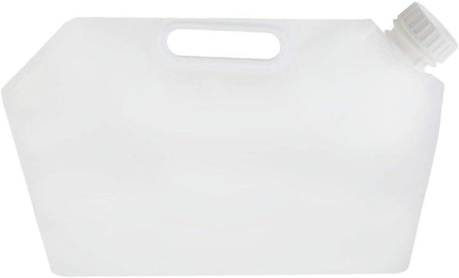 Leoboone Protable Plegable Bolsa de Almacenamiento de Agua Acampar L/íquido Plegable Contenedor Plegable de Emergencia de Almacenamiento de l/íquidos