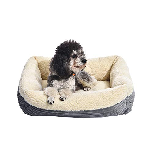AmazonBasics Rectangle Self Warming Pet Bed For Cat or Dog - 24 x 7 x 20 Inches
