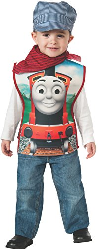 Cheap Halloween Costumes For Friends (Rubies Thomas and Friends, James The Red Engine, Child Small)