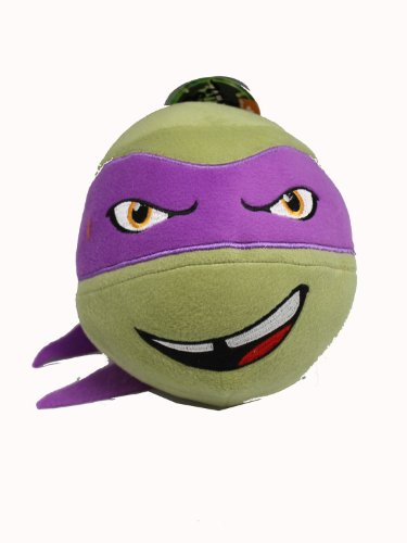 Teenage Mutant Ninja Turtle Head Plush Ball (Donatello)
