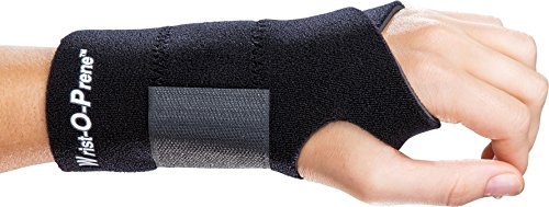 ProCare Universal Wrist-O-Prene Support Brace, Left Hand, One Size Fits Most