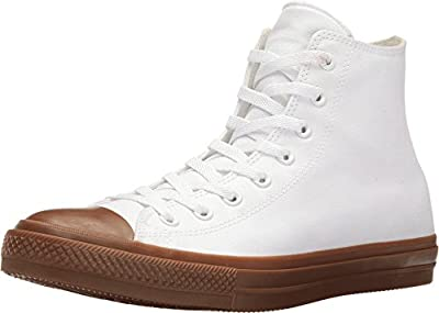 Converse Chuck Taylor All Star II Gum Hi White/White/Gum Classic Shoes