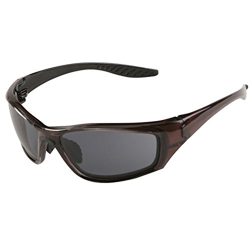 ERB 17913 8200 High Impact Safety Glasses, Dark Brown Frame with Polarized Lens