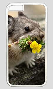 Cute mouse animal Easter Thanksgiving Masterpiece Limited Design PC Transparent Case for iphone 6 by Cases & Mousepads by ruishername