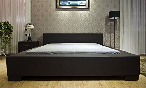 Modern platform bed for primary or guest bedroom.