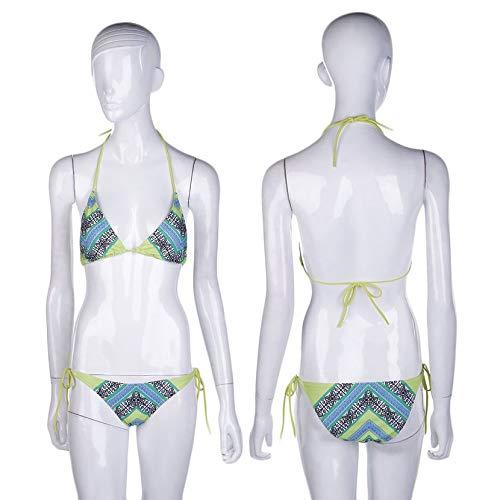 Green Yogatada Verde Costumi Modello Da Bagno Con Set Di Costume Donna Per rPrfqw7
