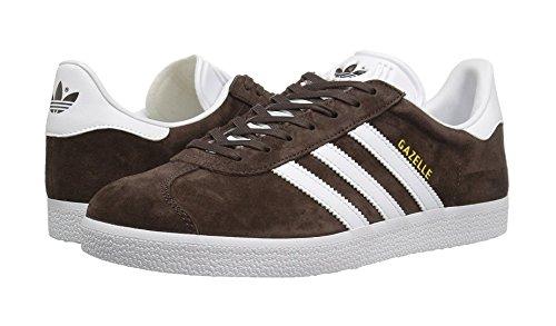 adidas Men's Gazelle Trainers Brown, 3.5 UK