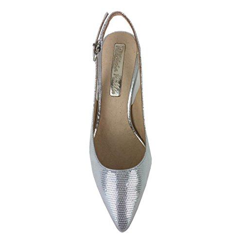 Zapato de salón de PATRICIA MILLER 784 (Plata)
