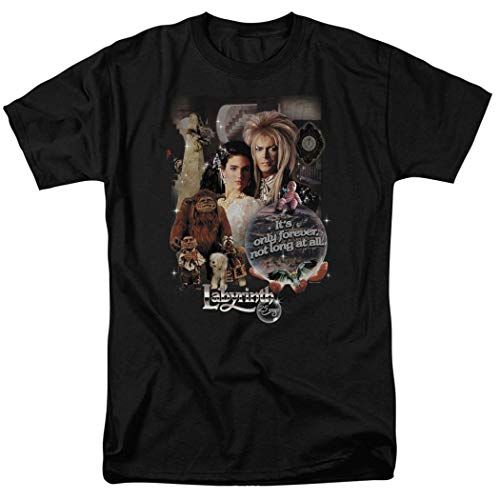 Labyrinth Movie Goblin King Unisex T Shirt & Stickers, S to XXL