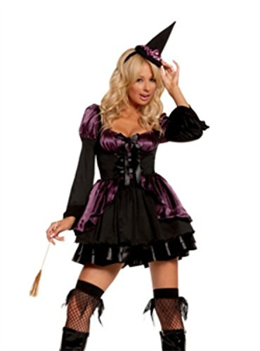 Cauldron Cutie Adult Costume - X-Large Cauldron Witch Adult Costume