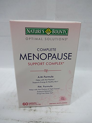 Nature's Bounty Optimal Solutions Menopause Support, 60 Tabl