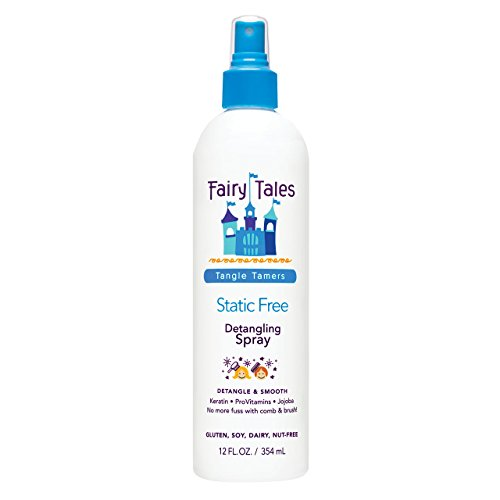 Wet Spray Hair Hair - Fairy Tales Tangle Tamer Static Free  Detangling Spray for Kids - 12 oz