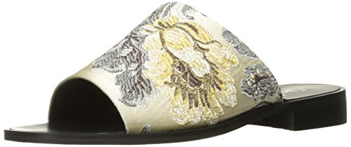 Beige Women's Shellys Slide Floral Enya London Sandal 6f6x7Xw