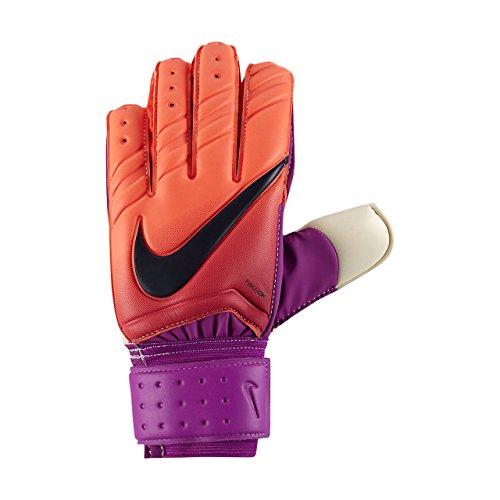Nike GK Spyne Pro Soccer Goalkeeper Gloves (Sz. 9) Total Crimson, Hyper Grape