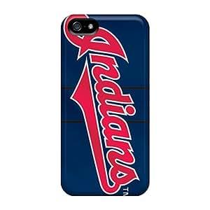 Protector Hard Cell-phone Case For Iphone 5/5s (Kae366rJkA) Customized Fashion Cleveland Indians Image