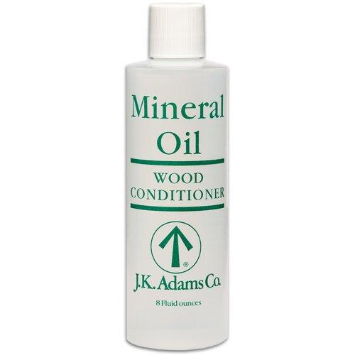 J.K. Adams 8-Ounce Mineral Oil Wood (Bottle Maple Spice Carousel)