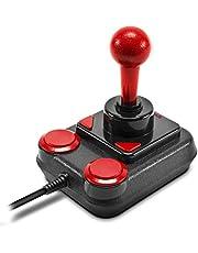 Speedlink COMPETITION PRO Extra USB Joystick - Anniversary Edition - retro arcade stick - voor pc's en Android-apparaten - zwart-rood
