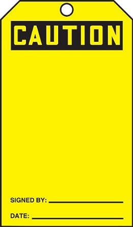 Accuform TDR387 - Etiquetas de recambio para dispensador de etiquetas de seguridad QuickTags (100 unidades