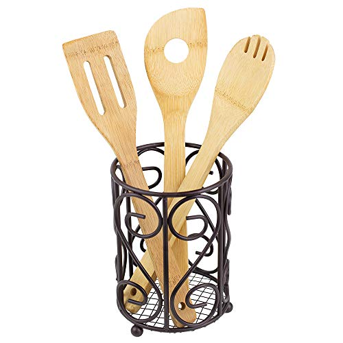 (Home Basics Scroll Collection Cutlery Holder)