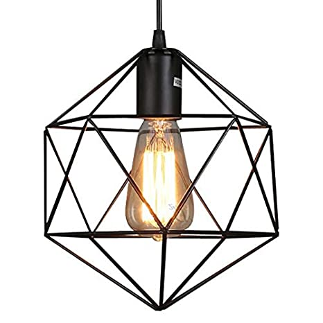 Ladiqi Hanging Pendant Light Modern Industrial Chandelier Dinning