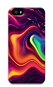 Trippy Melt Polycarbonate Hard 3D Case Cover for iPhone 5 and iPhone 5S hjbrhga1544