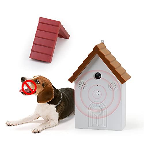 PAKESI Anti Barking Device, Sonic Bark Deterrents, Bird House Shape, Dog Silencer Bark Control