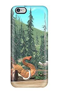 For Juliam Beisel Iphone Protective Case, High Quality For Iphone 6 Plus Manny & Ellie Ice Age Skin Case Cover
