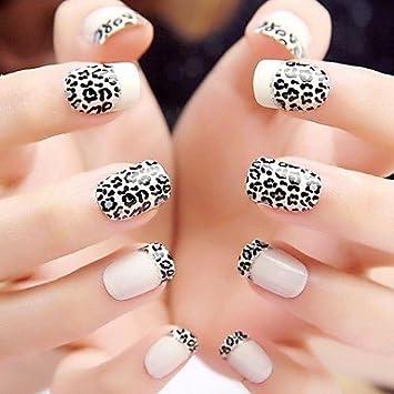 Amazon com : EVERMARKET(TM) 24PCS ABS White Leopard Print