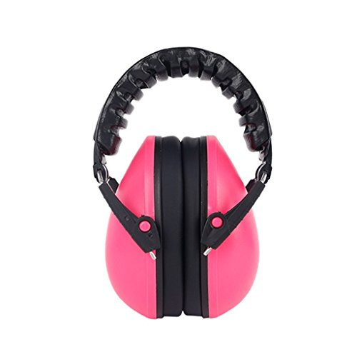 Forgun 21dB Baby Care Ear Muffs Hearing Protection Noise Reduction Ear Defenders Safety (pink) from Forgun