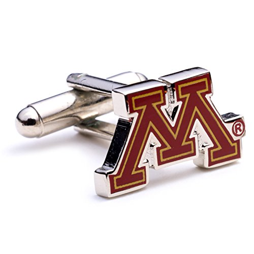 Minnesota Golden Gopher Cufflinks Novelty 1 x 1in Minnesota Golden Gophers Cufflinks