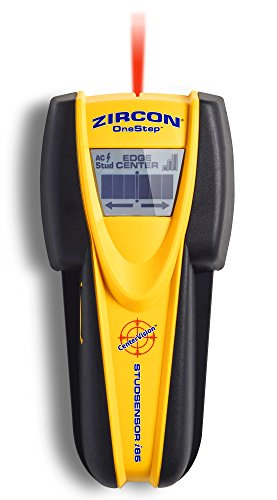 Zircon StudSensor i65 Electronic Wall Scanner / Center Finding and Edge Finding Stud Finder / Live AC WireWarning Detection - FFP