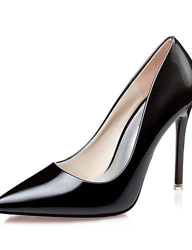 BGYHU GGX Damen Schuhe Fall Heels spitz Zehen Clogs & Pantoletten Kleid Stiletto Ferse andere schwarz Rosa silber Burgund