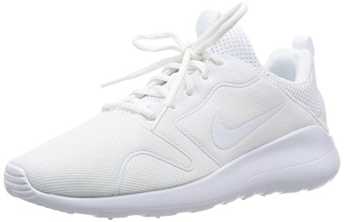 Nike Men's Kaishi 2.0 White/White Running Shoe - 12 D(M) US