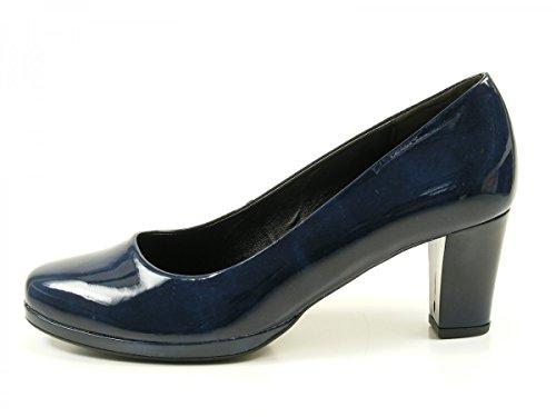 Gabor Shoes Comfort Fashion, Zapatos de Tacón para Mujer Blau