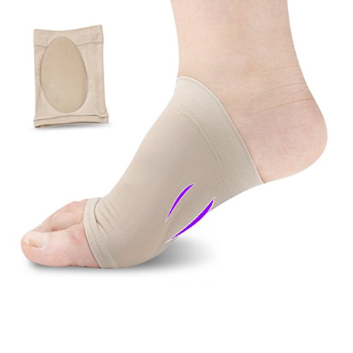 Foot Care Plantar Fasciitis Socks with Arch Sleeve Ankle Brace Support, Increases Circulation, Reduces Foot And Heel Pain