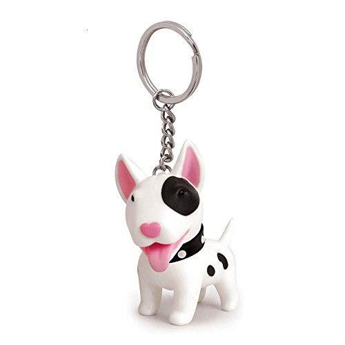 Linlins Cute Dog Key Chain,Key Ring, Bulldog,Corgi,Husky, 1 Piece